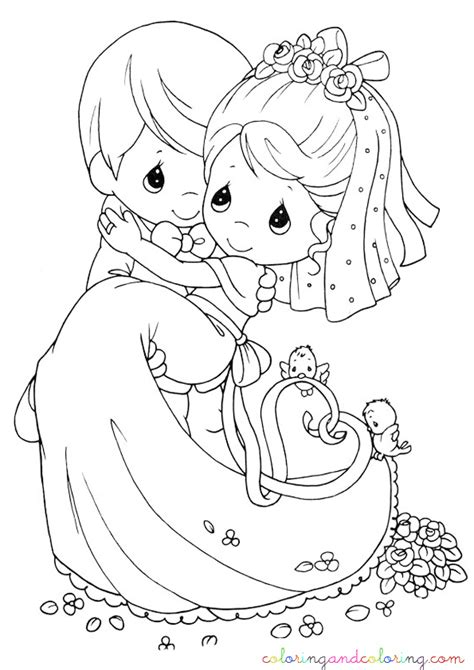 coloring pages for weddings free wedding for kids coloring pages