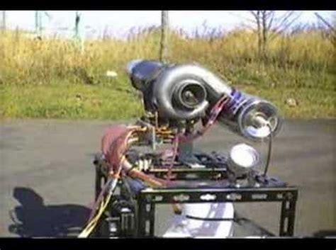 Handmade Engine - diy turbo jet engine 自家製ジェットエンジン 自動車ターボ流用