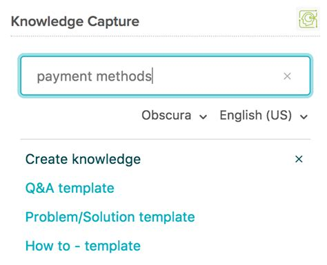 Knowledge Capture Template by Creating Articles With The Knowledge Capture App Guide
