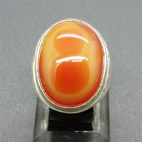 Cincin Mustika Angka Delapan Putih Orange Cincin Mustika Judi Angka 8 Mempesona Pusaka Dunia