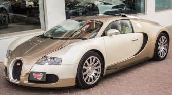 A Bugatti For Sale Unique Light Gold Bugatti Veyron For Sale