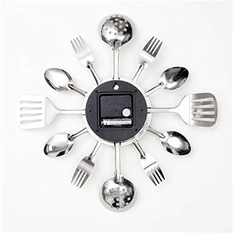 bits and pieces kitchen utensil clock
