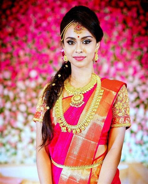 hairstyles for indian princess princess braid hairstyle for pink saree photo gallery