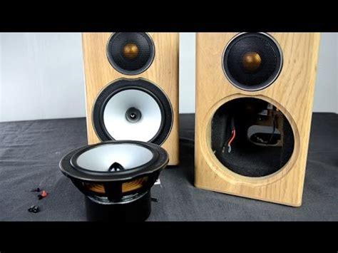 Bookshelf Speakers Stand Monitor Audio Bronze Bx1 Speakers Look Inside Youtube