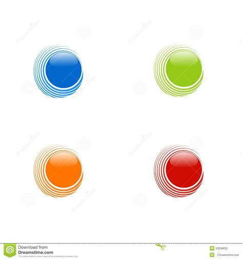 abstract design elements in red and orange colors on black background 27936 borders and frames set of abstract circles on white background blue orange