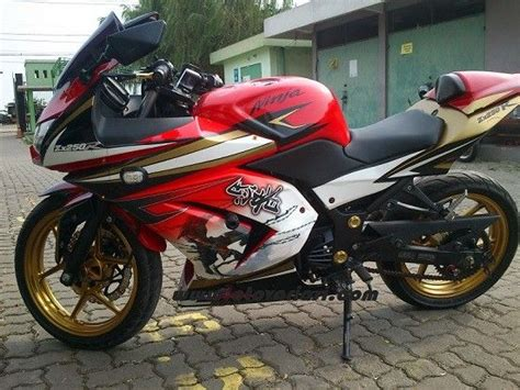 Modified Kawasaki 250r by Custom Motorcycle Decal Kits Modified Kawasaki 250r