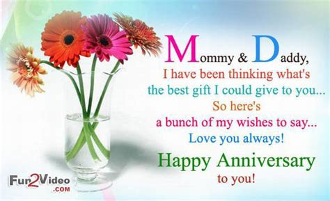 Wedding Anniversary Card Messages For Parents by Happy Anniversary And Images Anniversary Cards