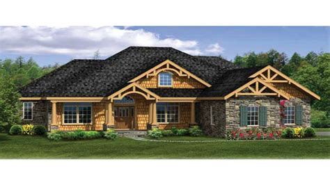 ranch craftsman house plans craftsman house plans with walkout basement modern