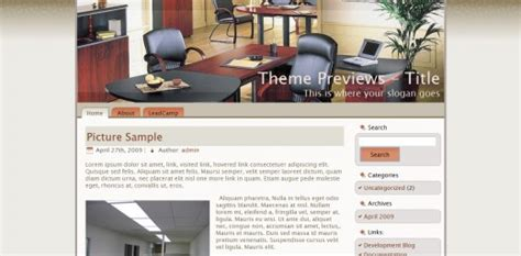 wordpress themes free office 20 of the best free wordpress themes graphicsbeam