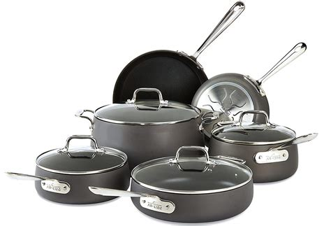 best cookware set 10 best anodized cookware sets for home cooks