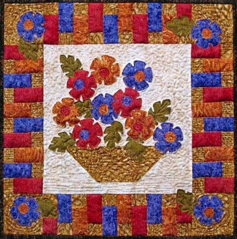 Small Quilt Kits by Basket Blooms Snap Sack Small Quilt Kit Ss 1211 12