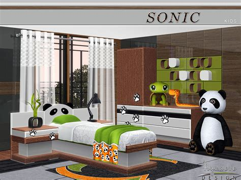 sims 3 bedroom decor nynaevedesign s sonic kids