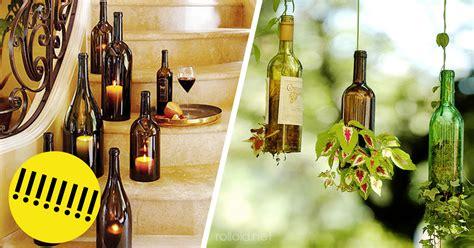 ideas para reciclar en casa incre 237 bles ideas para reutilizar las botellas de cristal y