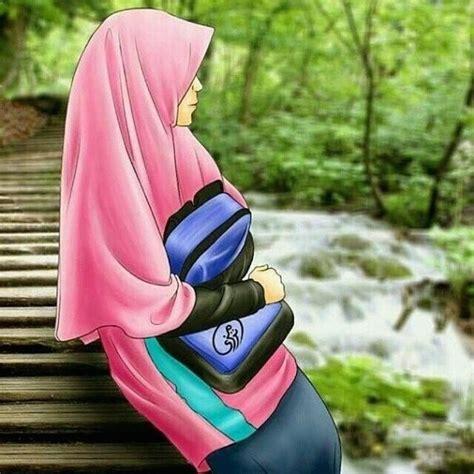 Foto Wanita Hijab Dari Belakang   Kumpulan Foto ABG