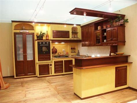 cucina in finta muratura prezzi cucina ciliegio finta muratura