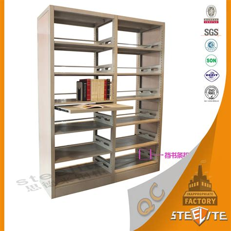 double side school library book display shelf wholesale