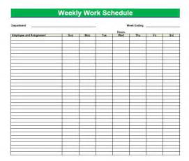 printable blank daily schedule template printable blank pdf weekly schedules blank pdf weekly