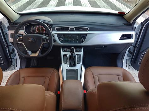 Geely Emgrand Interior by Geely Emgrand X7 Sport 2017 Review Qatar Yallamotor