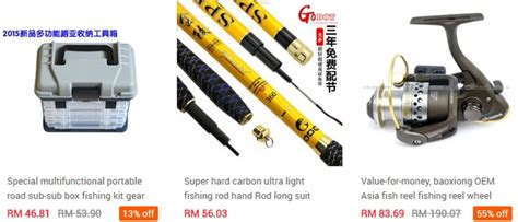Peralatan Pancing Murah kedai pancing yang murah ecommerce in malaysia