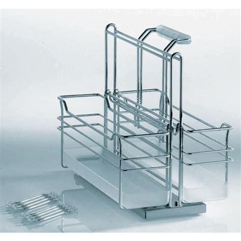 bathroom sink caddy kitchen or bath sink caddy with two baskets 1 removable