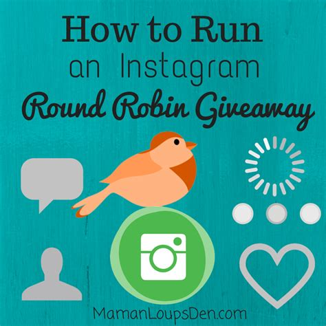 How To Run A Giveaway On Twitter - how to run an instagram round robin