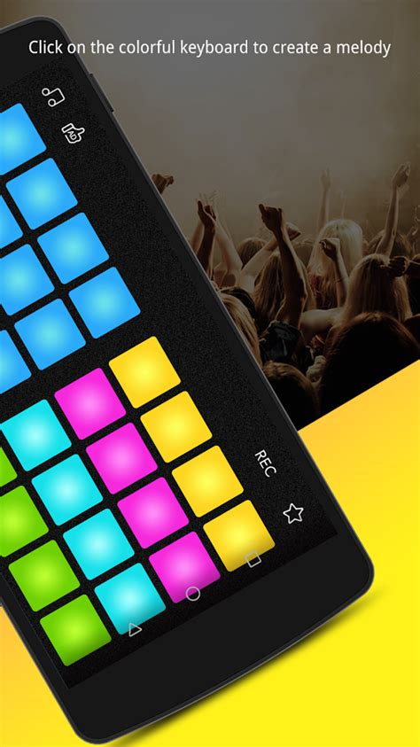 beat maker drum pad dj mix pad  android