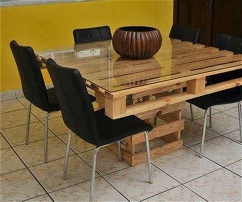 Palette Dining Table Dining Table With Wood Pallet Pallets Designs