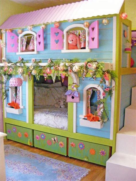girly bunk beds girly dream house bunk bed sister pinterest