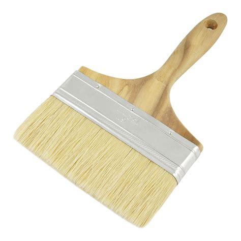 Kuas Cat 2 1 2 Koas Paint Brush 5 quot wide bristle hair wooden handle paint brush wall