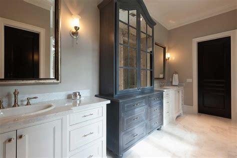 dark grey bathroom cabinets linen doors hall linen closet doors