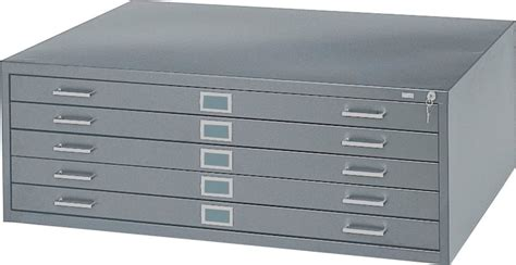 flat file drawer dimensions safco 5 drawer steel flat file for 36x48 inch documents 4998