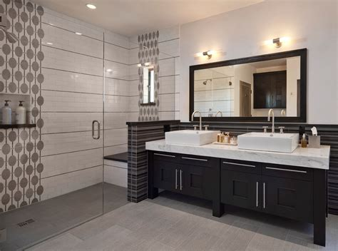 beige bathroom vanity black bathroom vanity bathroom contemporary with beautiful pools beige tile
