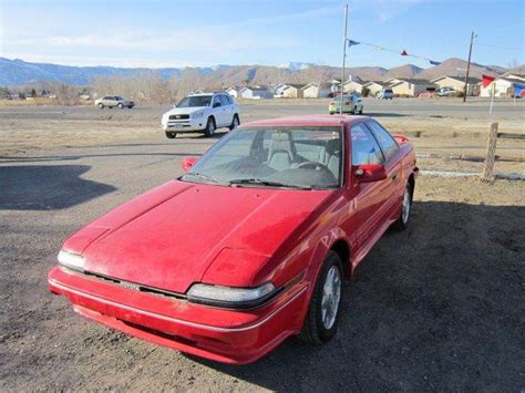 1988 Toyota Corolla Gts 1988 Toyota Corolla Gts In Carson City Nv The Auto Depot