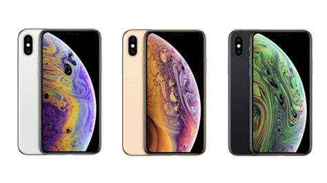 iphone xs colours apple  luxe   iphone xs