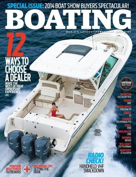 boating magazine reviews boating magazine discount subscriptions service fishing