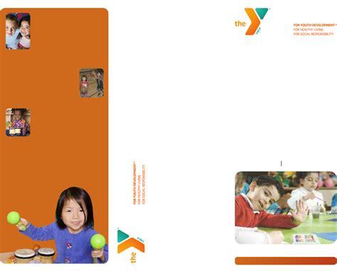 basic brochure template basic preschool brochure template free