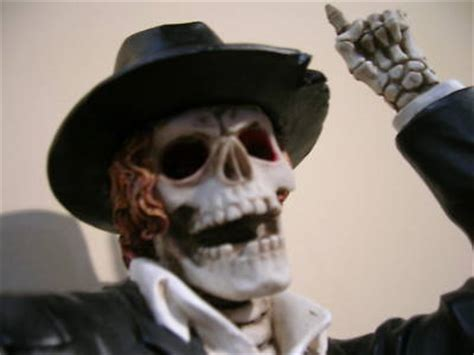 homengardenland  collectible michael jackson skeleton