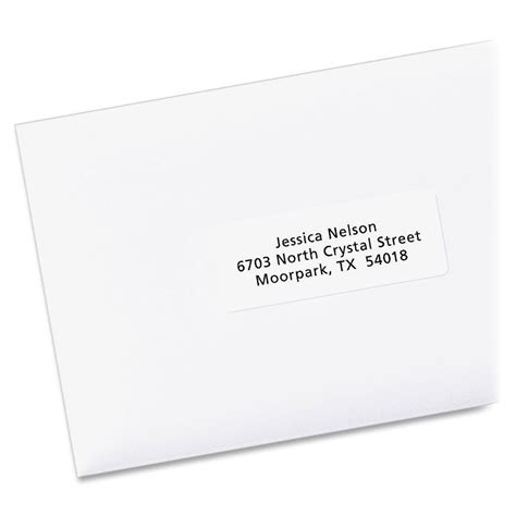 avery 8160 address label template avery easy peel address label ld products
