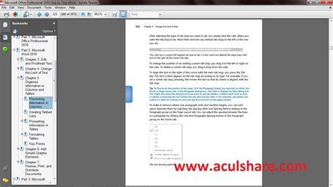 Buku Panduan Microsoft Excel ebook tutorial office 2010 buku panduan microsoft office
