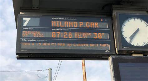 orario treni porta garibaldi treni guasto a porta garibaldi ritardi sulle linee per