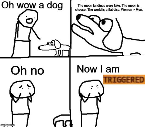 retarded dog blank template imgflip no really imgflip