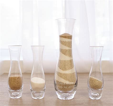 Sand Ceremony Vases by Personalized Sand Ceremony Vase Set Sand Ceremony Set