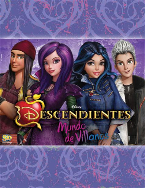 mundo de villanos personajes descendientes mundo de villanos sticker design