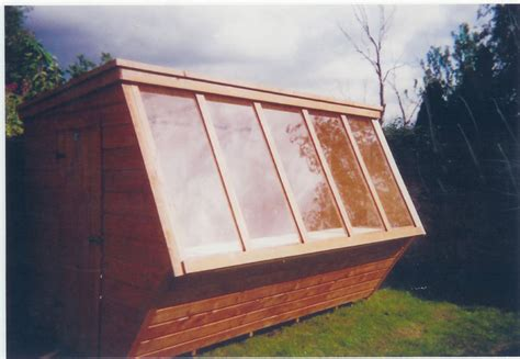 pent roof potting shed 8x6
