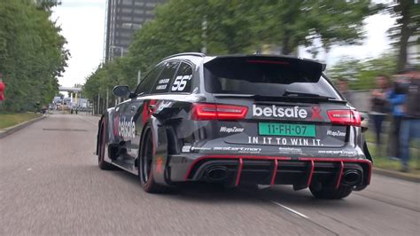 Audi Rs6 Dtm by 1000hp Audi Rs6 Dtm Redline Revs Accelerations