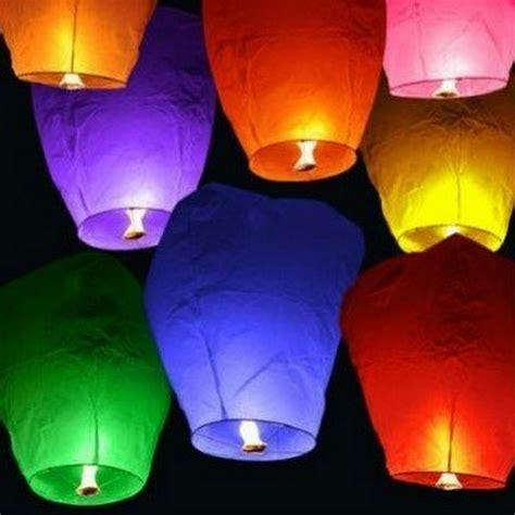 Make Flying Paper Lanterns - 20pcs lot sky lanterns kongming flying paper ls