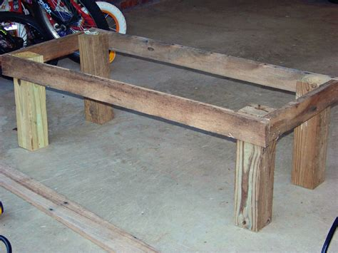 4x4 bench plans free workbench plans with 4x4 legs