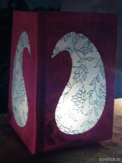Handmade Diwali Lanterns - diy paper lanterns design templates