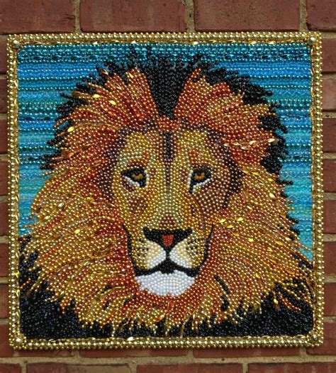 beaded paintings 17 best images about mardi gras bead on