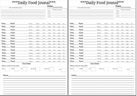 free printable medical journal 32 best images about printables medical forms fitness on